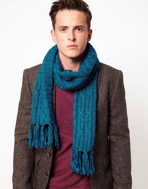 nueva llegada Reino Unido mejor Bufanda para Hombres | Bufandas para hombre, Moda y Ropa