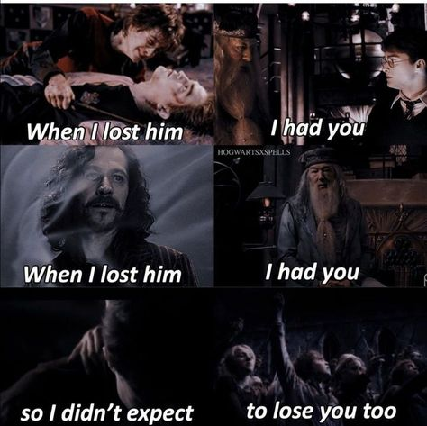 Harry Potter angst - #8