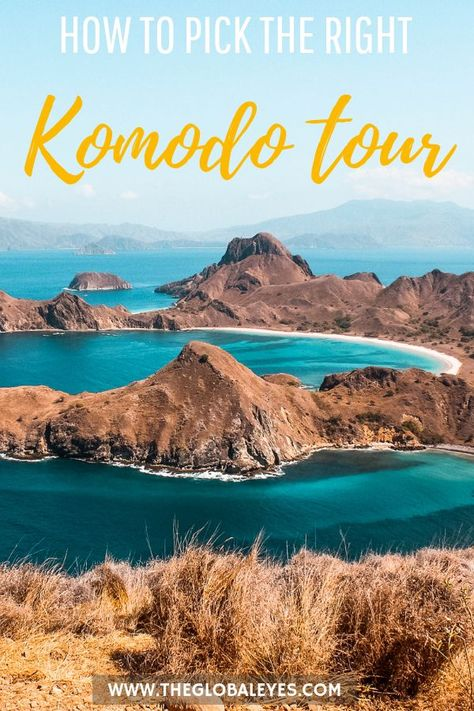 A Komodo tour is an absolute must do when visiting Flores, Indonesia. Read to find out what to expect and what to look for when choosing your Komodo tour. #indonesia #travel Komodo national park I Komodo Island