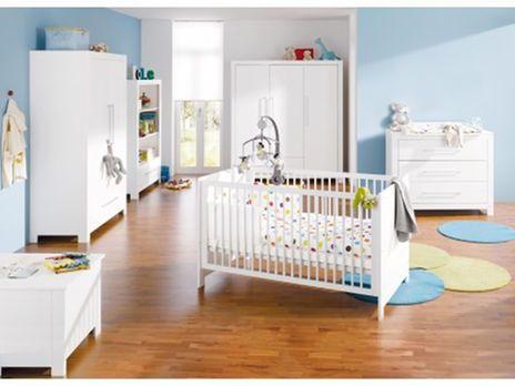 Kinderzimmer Line mit breiter Wickelkommode von Pinolino Dekor - pinolino babyzimmer design