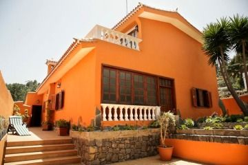 23 Fachadas de casas de color naranja