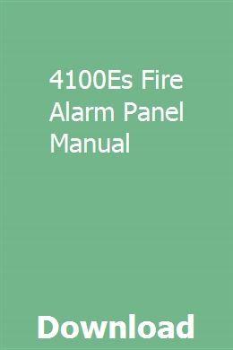 4100es Fire Alarm Panel Manual Repair Manuals Manual Acura Rdx