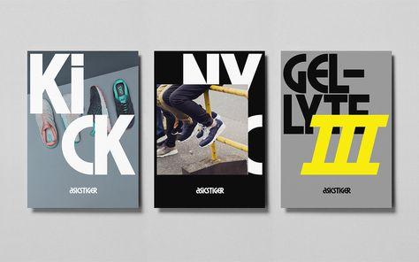 Asics Tiger - Brand Typeface ı