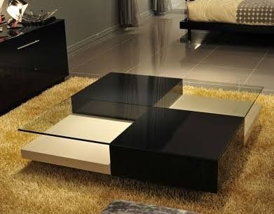 Two Piece Colour Center Table With Glass Top N60000 Gives Your Home The Spark It Need Centre Table Living Room Center Table Living Room Centre Table Design