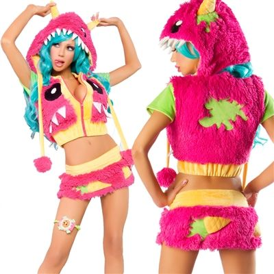 Monster Rave Outfit