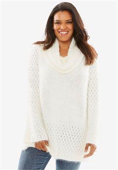 Roamans Womens Plus Size Fair Isle Pullover Sweater