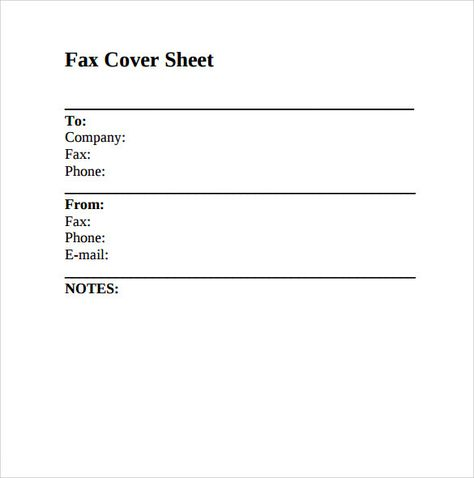 Fax Cover Sheet Word HttpCalendarprintablehubComFaxCover