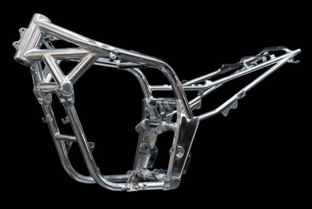 Bespoke Motorcycle Frame With Images Motorcycle Frames