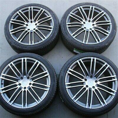 Details About 22 5x130 Turbo Style Wheels Tires Pkg Porsche