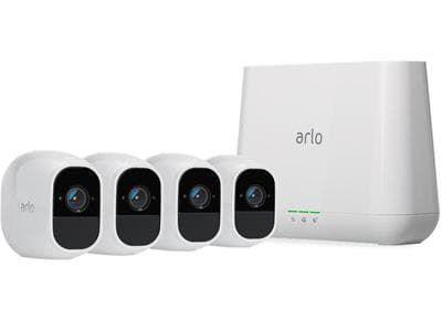 Arlo Pro 2 Vms4430p Base 4 Hdcam Overvakningskameraer Skjerm
