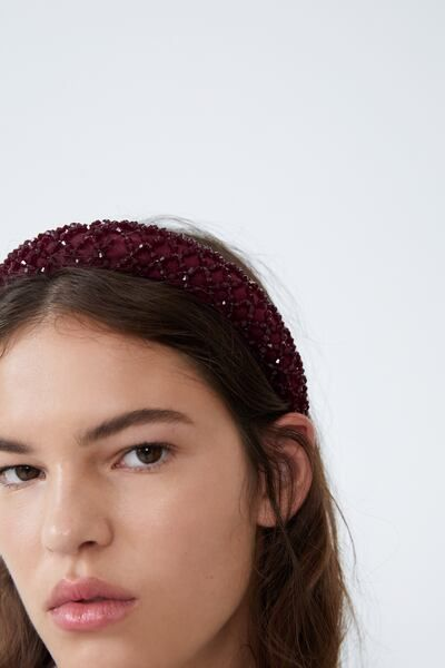 Wavey dotted ALICE BAND 2cm WIDE headband hair band 6 colours ON OFFER