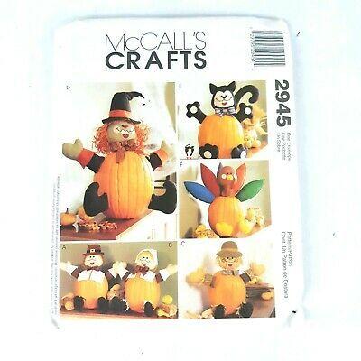 Mccall Patterns Halloween 2020 McCall s 2945 Halloween Pumpkin Pokers Pilgrims Turkey Cats Witch