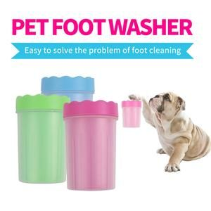 Foot Clean Cup For Dogs And Cats Pets Cat Grooming Dog Cat