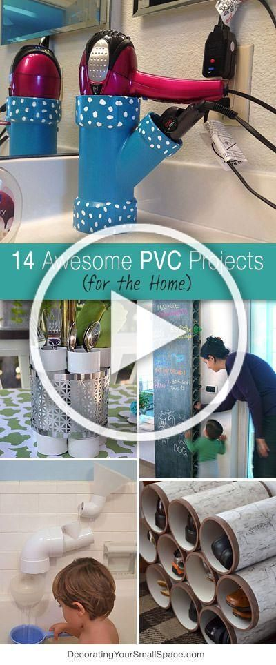 14 Awesome Pvc Projects For The Home Ohmeohmy Blog