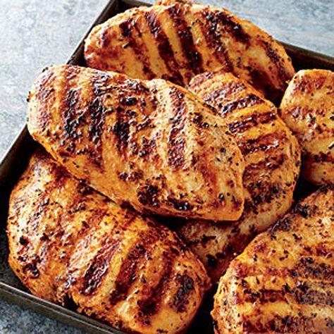 Low Carb - Hähnchenbrust mit Erdnussbutter, Sojasauce und Zitrone