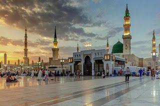 صور المسجد النبوي الشريف 2020 احدث خلفيات المسجد النبوي عالية الجودة Green Dome Mosque Photo