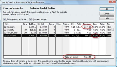 How to do accounts receivable in quickbooks, Step 1 Invoicing - 1099 invoice