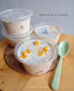 Resep Dan Cara Membuat Mango Milk Cheese Resep Masakan Resep Mango