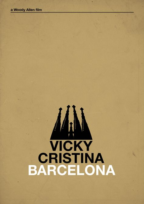 Woody Allen film Poster: Vol. I by chio romero, via Behance