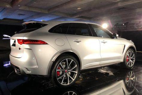 2018 Jaguar F Pace Svr