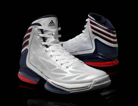 0b79c20b2845 Cheap USA basketball shoes Adidas AdiZero Crazy Light 2 USA ...