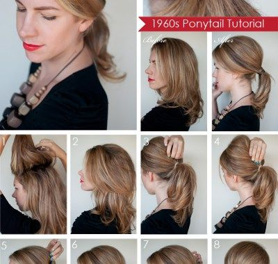 Ponytail Hairstyles For Short Hair Step By Step Hair Styles Ponytail Hairstyles High Ponytail Hairstyles