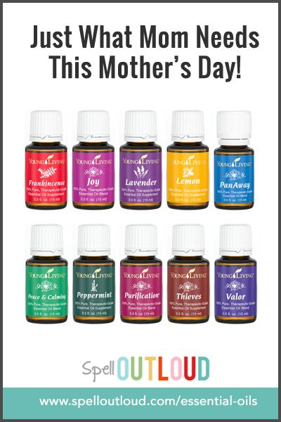 Young Living Essential Oils for Mother's Day