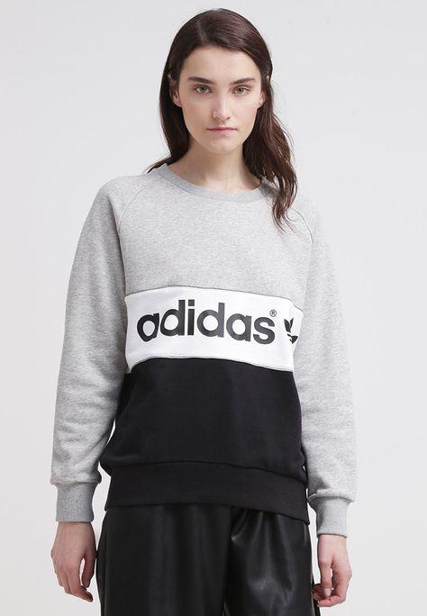 adidas Originals CITY Sweatshirt medium grey heatherblack