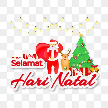 Christmas Decoration With Text Selamat Hari Natal Christmas Natal Selamat Hari Natal Png And Vector With Transparent Background For Free Download In 2020 Merry Christmas Text Merry Christmas Greetings Christmas Text