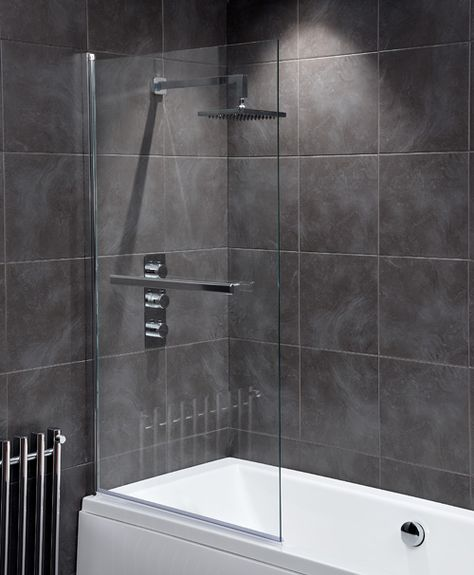 Shower Screen With Towel Rail Google Search Shower Screen Bath Screens Bath Shower Screens