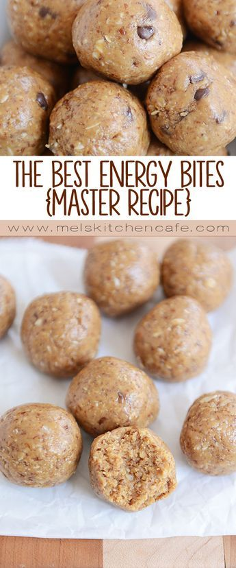 The Best Energy Bites Recipe {Endless Add-In Options} | Mel's Kitchen Cafe