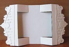 Corryb Kaartengalerij Card Folding Fun Fold Cards Card Patterns Christmas Cards To Make