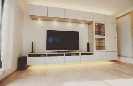 54 Ideas Living Room With Tv Layout Decorating Ideas Ikea Hack Living Room Ikea Living Room Ikea Tv Wall Unit