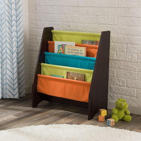 Kidkraft Sling Bookshelf Espresso Toys R Us Bookshelves Kids Bookshelves Diy Diy Bookshelf Kids