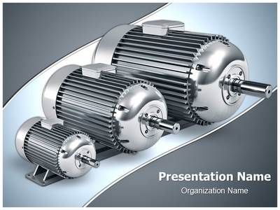 electric motors powerpoint template is one of the best powerpoint, Presentation templates