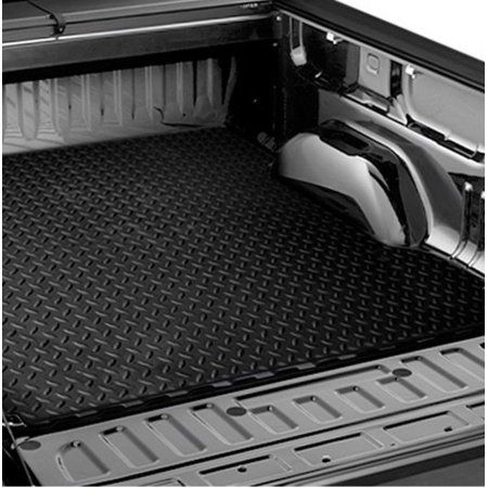 Rl Concepts Black Rubber Diamond Truck Bed Trunk Floor Mat Carpet 02 17 Dodge Ram 6 4 6 5 Cab Whitediamonds Truck Bed Mat Chevy Accessories Truck Bed