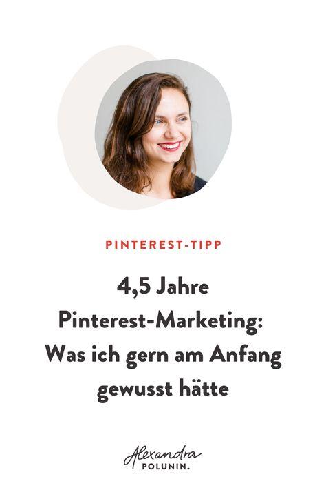 Meine Erfahrungen aus 4,5 Jahren Pinterest Marketing