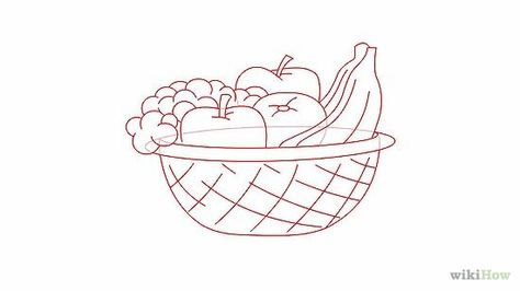 draw a basket of fruit journal ideas journal and drawings