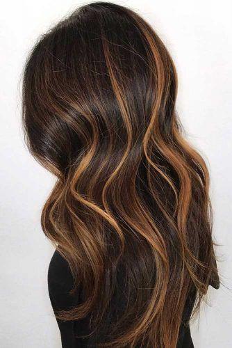 28 Flirty And Effortless Ways To Rock Golden Brown Hair Brown