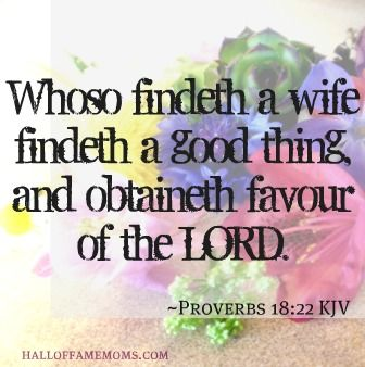 Who can find a virtuous wife