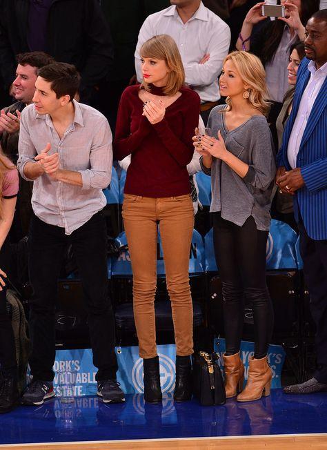 Taylor Swift Wearing Jeans | PopSugar Moda