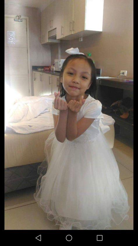 Pin By Pilar Crisostomo On My Angel Flower Girl Dresses Wedding