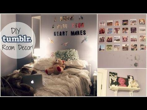 Diy Cheap Easy Tumblr Inspired Room Decor Xoxosolie Youtube