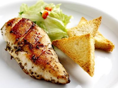 وصفات صدور دجاج م شوية بالزعتر وزيت الزيتون Cooking Recipes Recipes Traditional Food