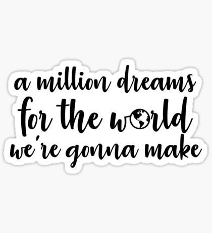 List of a million dreams tattoo pictures and a million