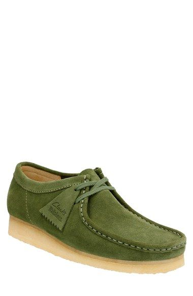 Pale Lime Nubuck - Clarks Wallabees® - Women's - Clarks® Shoes | Wallabees  | Pinterest | Clarks, Limes and Originals