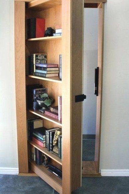 Secret Bookcase Door Secure Hidden Order Today In 2020 Hidden