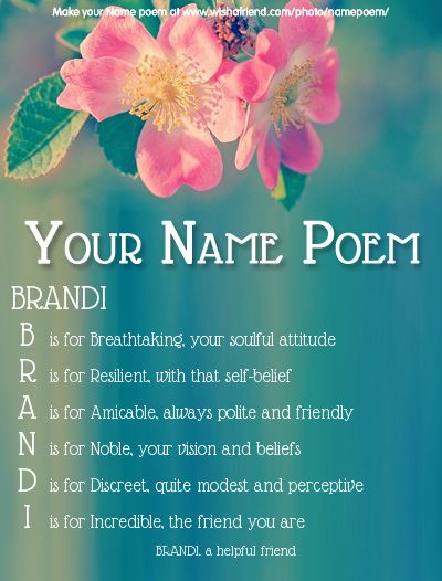 Acrostic Name Poem Acrostic Poem For Your Name Acrostic Poems Names