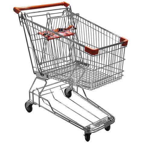 Regency Supermarket Grocery Cart 3.5 Cu. Ft.