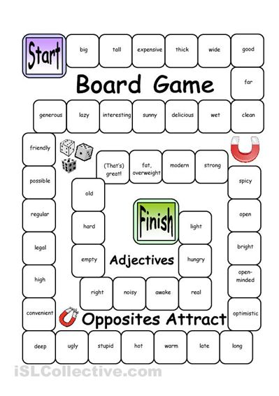 Board Game - Name it, Spell it (Easy) | English | Pinterest | Gaming ...